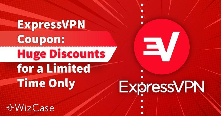 قسيمة خصم على ExpressVPN لعام 2020: تمتع اليوم بخصم يصل إلى 49%!