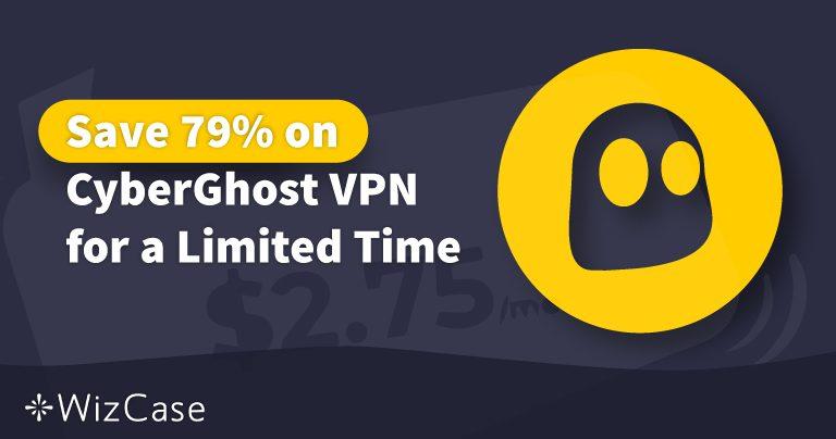 قسيمة خصم على برنامج CyberGhost VPN لعام 2020: وفر ما يصل إلى 79% اليوم
