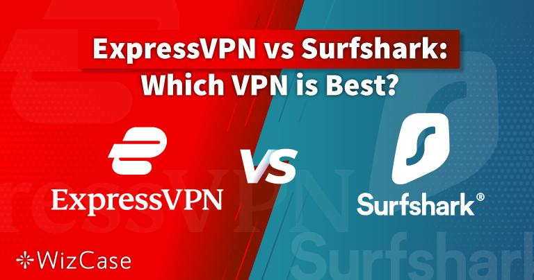 ExpressVPN ضد 2021 Surfshark: من الأفضل؟ واحدٌ فقط هو الأفضل!